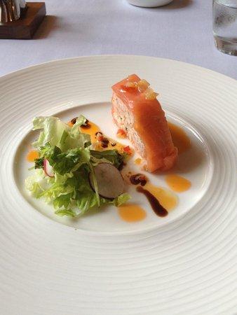 Bailbrook House Hotel: Starer - Smoked Salmon & Prawn