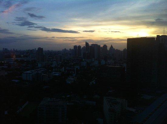 Bangkok Marriott Hotel Sukhumvit: view from roof bar