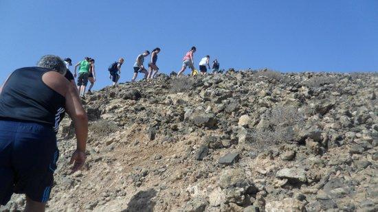 Labranda Corralejo Village : Volcano walk with Gary