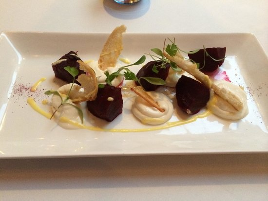 Bridge Street Lounge and Grill: Goats cheese mousse