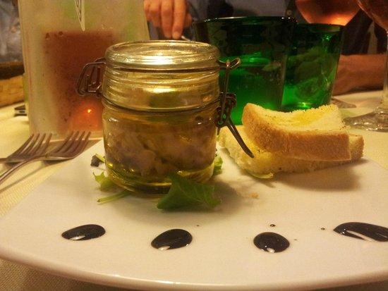Trattoria Rosmarino: Tartare di palamita