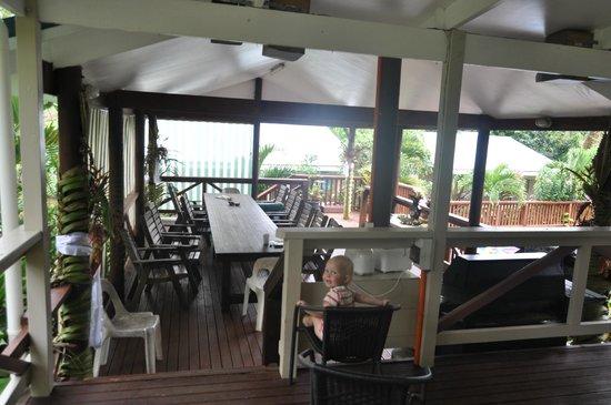 Te Akapuao Holiday Home and Studio Villas : gemeinsamer