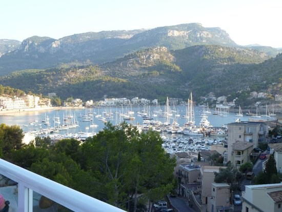 SENTIDO Porto Soller : View from the restaurant outside seating area.