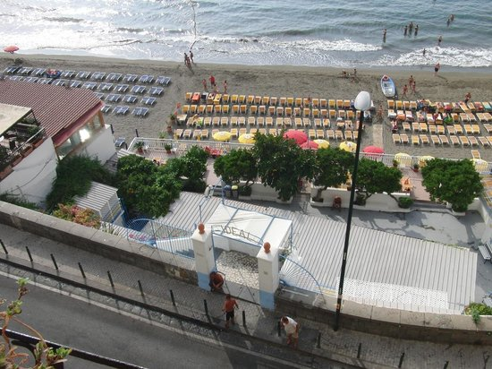 Vista Mare b&b: direkt vom Balkon fotografiert