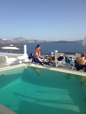 Caldera Villas: view of pool