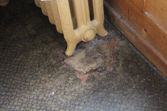"""Hotel Falken Wengen: The """"historic"""" floor"""