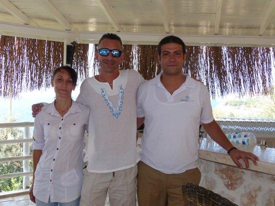 Likya Gardens Hotel Kalkan: great staff!!