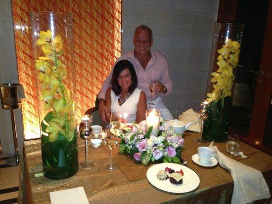 Capella Singapore: Happy Birthday