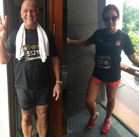 Capella Singapore: Zombie run
