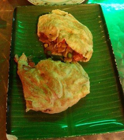 Aima Grill Fish Restaurant: Omelette