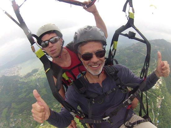 Avia Club Nepal: big fun with Ronald in the clouds