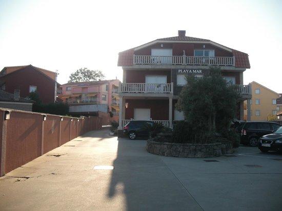 Apartamentos playa mar desde s 248 portonovo espa a for Apartahoteles familiares playa