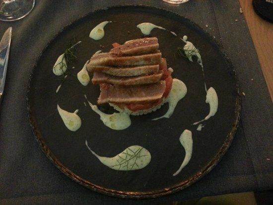 Maio Restaurant : Filetto di tonno rosso