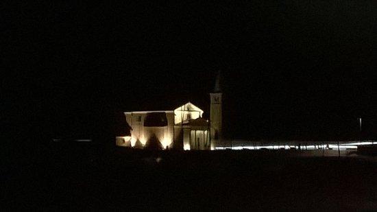 Santuario della Madonna dell'Angelo : ancora piu bella di notte