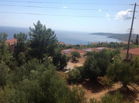 Kerasia Studios: view from balcony