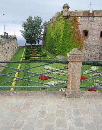 Montjuic Castle: entrata