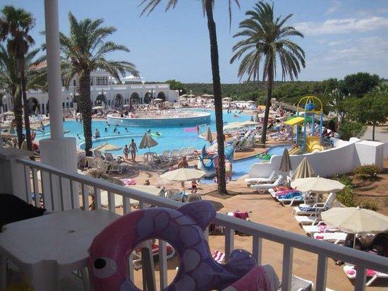 Grupotel Mar de Menorca: Balcony view. I miss it 😭