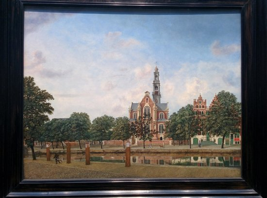 Galería Nacional: view of the Westerkerk
