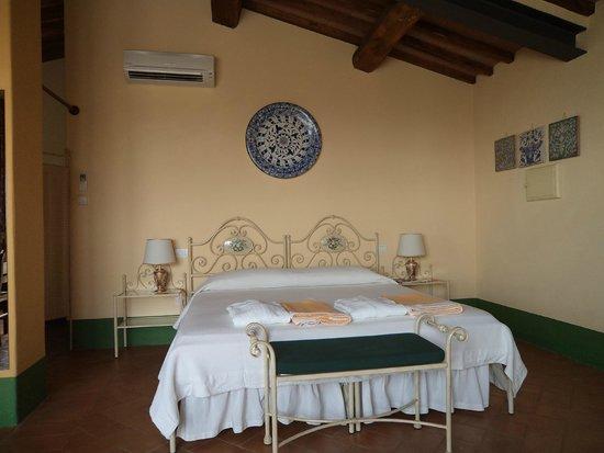 Podere Salicotto: suite Belvedere