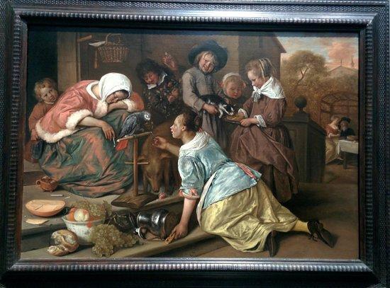Galería Nacional: Jan Steen and his funny plot