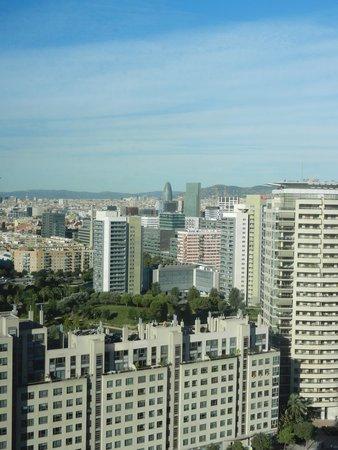 Hilton Diagonal Mar Barcelona: vue depuis la chambre