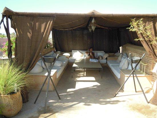 Riad Hizad : La tente berbère