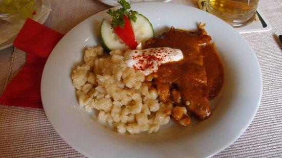 Horvath Etterem: Paprika chicken