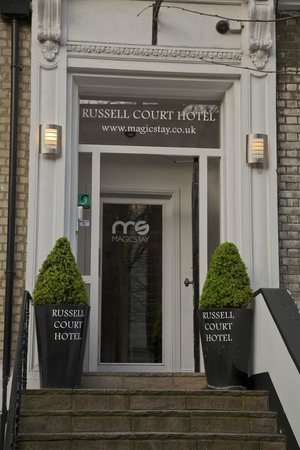 MStay Russell Court Hotel: entrance