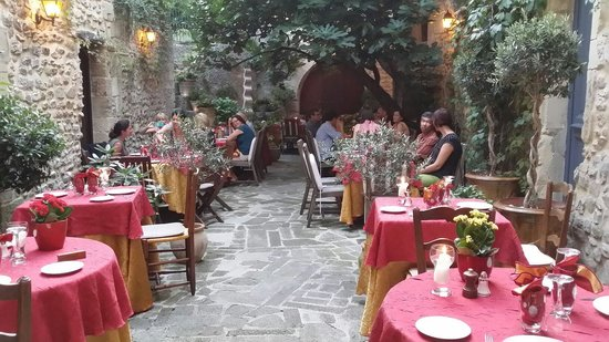 Hostellerie le Beffroi : Restaurant