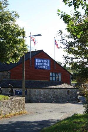 Charlestown Shipwreck & Heritage Centre : das Museum von außen gut sichtbar
