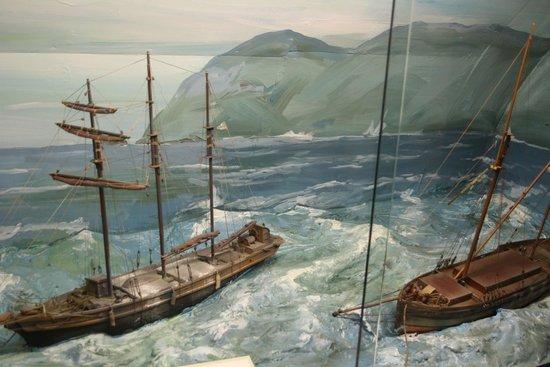 Charlestown Shipwreck & Heritage Centre : Modell, liebevoll und voller Details
