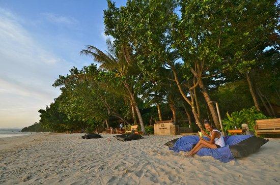 The Tubkaak Krabi Boutique Resort : Entspannt am Strand