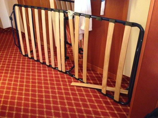 Radisson Blu Resort, Terme di Galzignano – Hotel Sporting: ecco in che condizioni era  il terzo letto