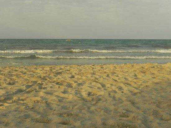 SENTIDO Djerba Beach: Plage en fin de journée