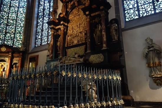 St. Lambertus Church: protected area