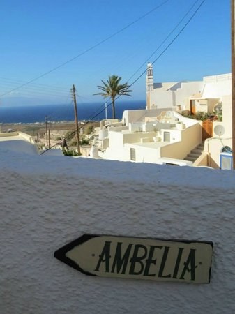 Ambelia Traditional Villas: Pathway from Finikia to Ambelia Villas