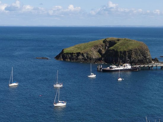 Lundy Island: The dock