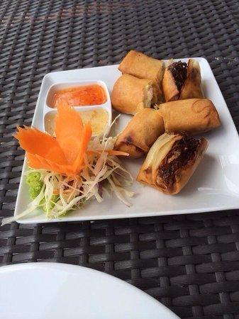 #12 delicious!! spring rolls vegetables