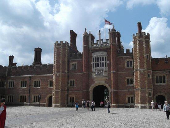 Hampton Court Palace: The Tudor section