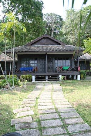 Perhentian Island Resort: La parte migliore delle camere, la vista dall'esterno :)