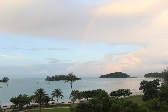 The Danna Langkawi: View from the room @ Sunrise