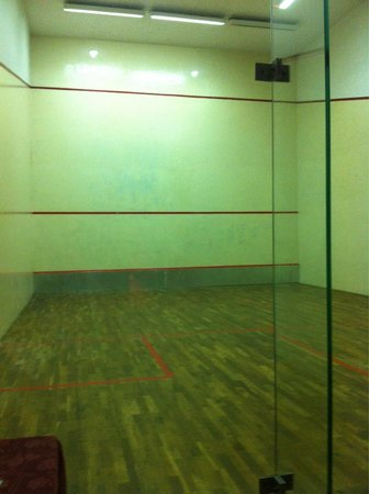Silvanus Hotel Visegrad: Squash pálya