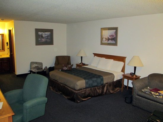 Econo Lodge Inn & Suites: Our large room