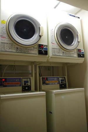 Smile Hotel Tokyo Nihombashi: laundry in the hotel