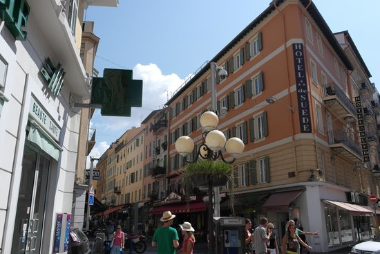 Hotel Suede: Sentralt