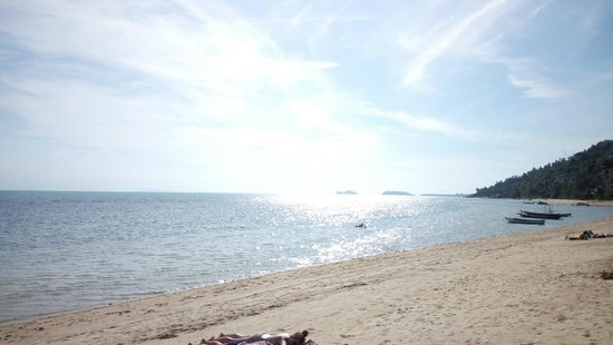 The COAST Resort - Koh Phangan : beach area