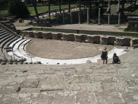 Ostia Antica: Teatro