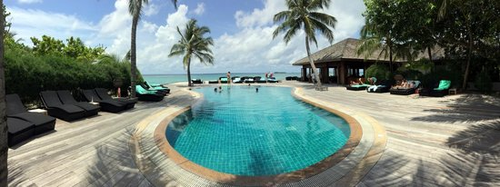 Kuredu Island Resort & Spa : The O Resort pool