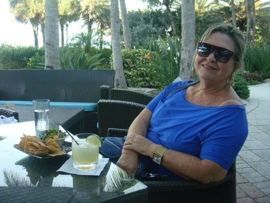 Miami Beach Boardwalk: drink relaxante