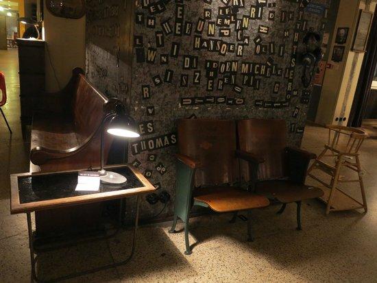 Kex Hostel: Sala comune